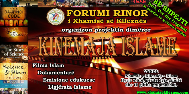 Projekti i radhës nga Forumi Rinor – KINEMAJA ISLAME