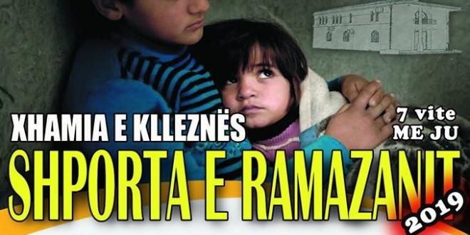 """Filloi aksioni humanitar """"Shporta e Ramazanit 2019"""""""