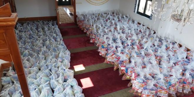 Në total: 455 Shporta për 455 Familje në nevojë.